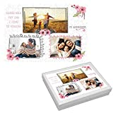 Regalo Original Mamá/Puzzle Personalizado Fotos/Incluye: Puzzle + Caja/Día de la Madre/Cumpleaños/Navidad/Aniversario/Mujer/Chica/Señora