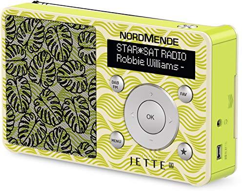 Nordmende Transita 100 portables Designer Digital-Radio gestaltet von Jette Joop, klein, tragbar, für Outdoor geeignet, mit Lautsprecher