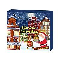 アドベントカレンダー2020クリスマスキッズおもちゃセット、ガラスビーズクリスタルブレスレット、クリスタルマッド、海洋動物キット、3つの異なるスタイルの12日間のクリスマスカレンダーセット