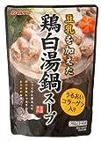 マルサンアイ 鶏白湯鍋スープ 750X10