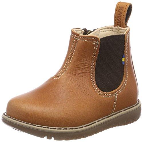 Kavat Unisex-Kinder Nymölla Chelsea Boots, Braun (Light Brown), 26 EU
