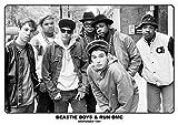 Close Up Beastie Boys & Run-DMC Poster Amsterdam 1987 (84cm