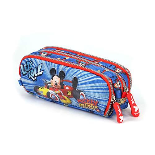 Mickey Mouse Estuche Portatodo, Multicolor (KM-38236)