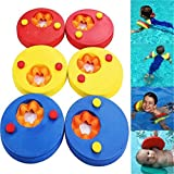 ZZM Manguitos de natación para niños, Flotadores de Brazo Band Kids 6 Piezas Swim Discs Safe Equipo de Entrenamiento de natación Desmontable Colorful Swim Band en Pool Lake Ocean 17 * 14 * 4.8 cm