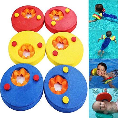 ZZM Manguitos de natación para niños, Flotadores de Brazo