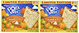 Frosted Pumpkin Pie Flavor Limited Edition Good Source of 7 Vitamins & Minerals Toaster Pastries