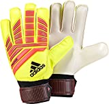 adidas Unisex-Adult Predator Training Goalie Gloves, Solar Yellow/Solar Red/Black, 8