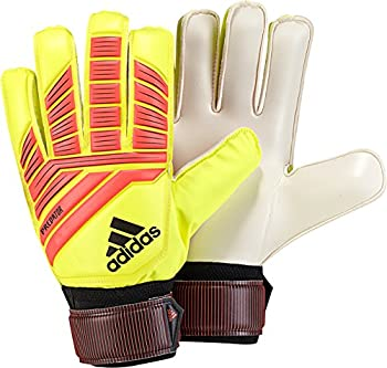 adidas Unisex-Adult Predator Training Goalie Gloves Solar Yellow/Solar Red/Black 9