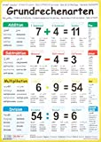 "Multilinguales LernPOSTER ""Grundrechenarten"": (in 11 Sprachen) - Aylin Keller"