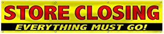 wall26 Store Closing Everything Must GO Banner Advertising Banner
