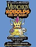Steve Jackson Games Munchkin Kobolds Ate My Baby Booster Pack–Juego de Tarjeta de D10