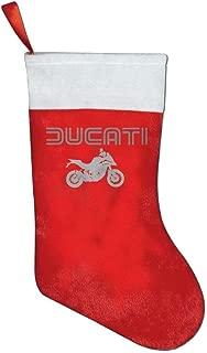 KSSChr Ducati Multistrada Christmas Stocking Red Xmas Socks