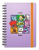 Erik Planer - Schulplaner BT21 - Kalender Wochenansicht 2020/2021 für Schüler 12 Monate - Offizielles BT21- Merchandising