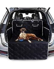 Mata ochronna dla psa z osłoną boczną, uniwersalna mata do bagażnika samochodowego, wodoszczelna, antypoślizgowa, odporna na zarysowania, 185 x 103 cm