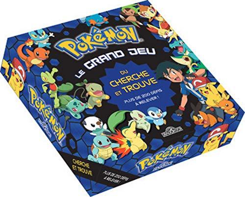 Pokémon - Le grand jeu du cherche-et-trouve - Jeu de société - Dès 6 ans