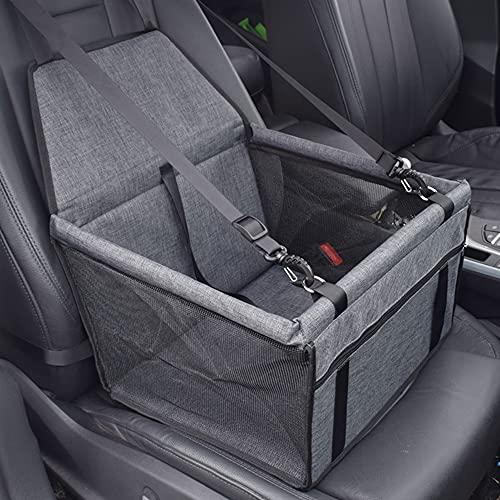 Sillas de coche para mascotas pequeñas y medianas, gatos, perros y mascotas Cinturones de seguridad plegables estables y reforzados 3 cinturones de seguridad