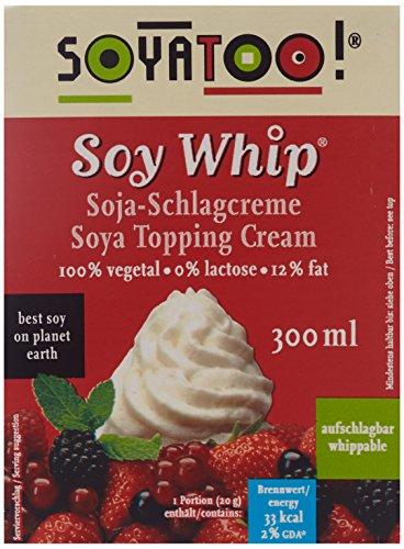 Viana Soja Schlagcreme, 5er Pack (5 x 300 g)