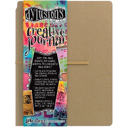 Ranger DYJ34100 Dylusions Dyan Reaveley's Creative Journal, 11.375 by 8.25-Inch