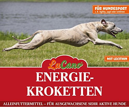 LuCano 5 kg Energie Trockenfutter für sehr aktive und belastete Hunde z.B. Einsatz bei der Bundeswehr, Polizei, Agility, Schlittenhunde, usw