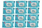 The Original NeatCheeks Natural Flavored Baby Face Wipes for Sensitive Skin - As seen on SHARK TANK! (12Packs of 25)
