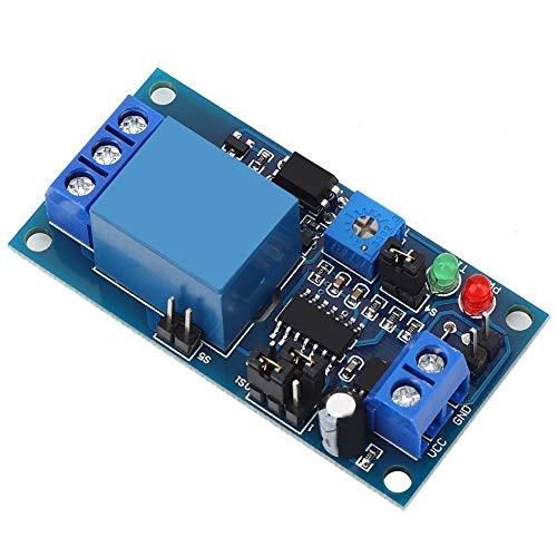 Vibración del módulo electrónico, módulo de relé de retardo de tiempo vibración para el hogar tamaño ligero para sistemas de control de puerta para control automático de equipos