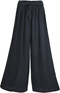 Women's Pants Wide Leg Trousers Lounge Pants Casual Loose Elasticated High Waist Baggy Tracksuit Bottoms Comfortable Breathable