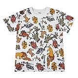 スモール・プラネット Disney ディズニー ライオンキング オールスター 総柄 Tシャツ 120サイズ AWDS6544