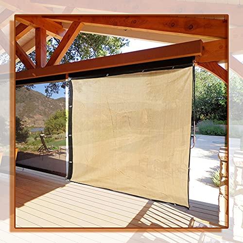 GAOYUY Malla Sombreadora Sun Net, Paño De Sombra De Jardín Cubierta De La Glorieta Red De Privacidad De Seguridad para Balcones para Sombreado De Invernadero De Plantas De Flores De Jardín