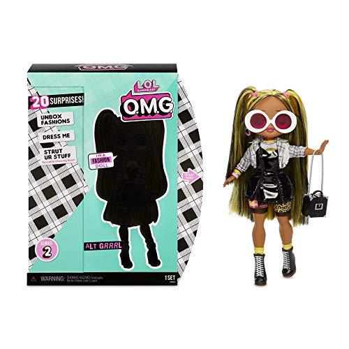 L.O.L. Surprise! 565123E7C O.M.G. Alt Grrrl, bambola alla moda, con 20 sorprese, multicolore