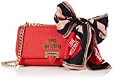 Love Moschino Jc4239pp0a, Pochette da Giorno Donna, Rosso (Red), 10x15x24 cm (W x H x L)