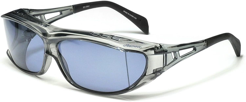 Comolife Wear Over Polarized Unisex Sunglasses , color   Smoke (frame) , Smoke (lens) , Size   W 7.02 x 6.31 x1.95 (in)
