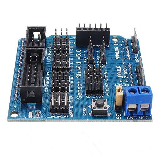 For Arduino - Produkte, die Arbeit mit dem offiziellen Arduino Boards 5Pcs UNO R3 Sensor-Schild V5 Expansion Board Für das Arduino-Kit.