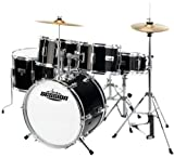XDrum J-Pro-S - Set de batería infantil, color negro