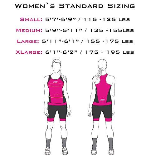 SLS3 Triathlon Einteiler Damen   FRT Trisuit   2 Taschen   Womens Trisuit   Triathlon-Anzug für Damen   Frauen Tri Suit - 4