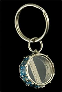 Snare Drum Key Chain - Blue