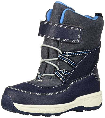 Carter's Boys's Weather Boot, Navy, 10 M US Toddler