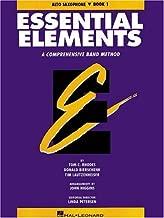 Essential  Elements E Flat Alto Saxophone Book 1