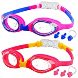 Best Swim Goggles - Kids Swimming Goggles, 2-Pack kids Goggles for Swim Review