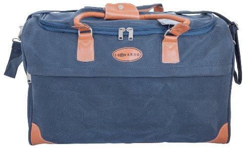 Leonardo Reisetasche - Design im Leder-Look // NEU Jetzt auch in Blau