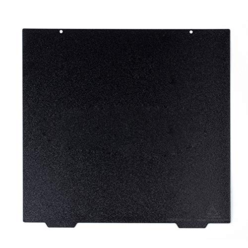 Good Quality 310 x 310mm CR10 Flexible Double Sided Textured PEI Spring Steel Sheet LayerLock PEI Powder Coated Build Plate for BLV MGN Cube, Creality CR-10 3D Printer