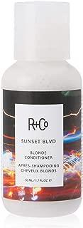 R+Co Sunset Blvd Blonde Conditioner Travel, 50ml