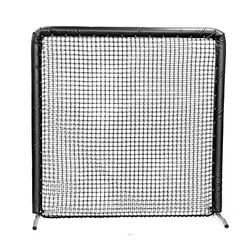 On-Field Protective Screen 7'H x 7'W - Black - Padding