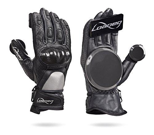 Loaded Boards Leather Downhill Race Longboard Slide Glove (Large/X-Large)