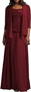 Women's Mother of The Bride Dress W/ Jacket Long Evening mal Gowns