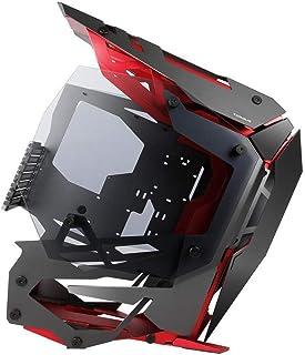 Antec Torque Computer Case Midi-Tower Negro, Rojo - Caja de Ordenador (Midi-Tower, PC, Aluminio, Negro, Rojo, ATX,EATX,ITX...