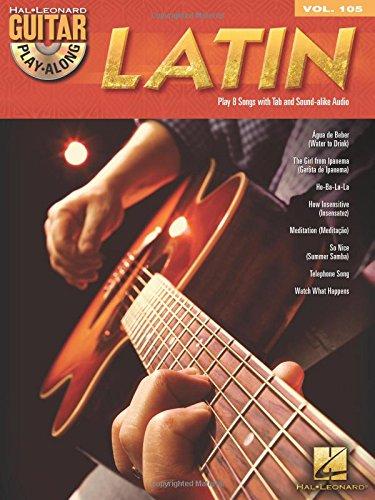 Hal Leonard Guitar Playalong Latin Volume 105 Book And CD: Noten, CD, Sammelband, Play-Along für Gitarre: Guitar Play-Along Volume 105