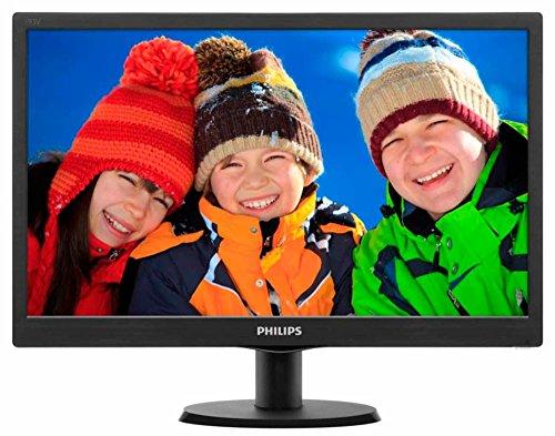 Philips 193V5L 18.5 inch LED Backlit Computer Monitor