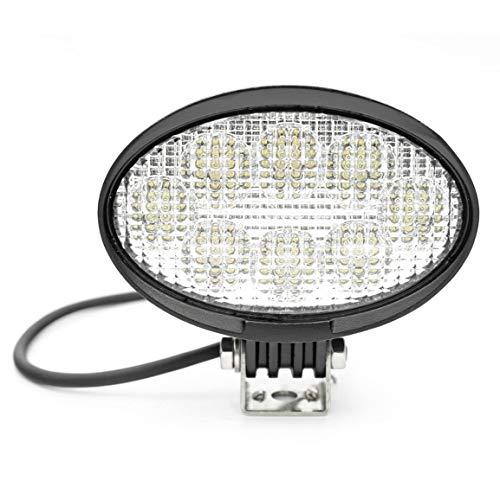 Arbeitsscheinwerfer oval 40 Watt Cree LEDs