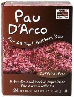Pau D Arco Tea, 24 bags by Now Foods (Pack of 3)