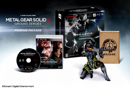 Metal Gear Solid V Ground Zeroes - Edition Limitée Amazon.co.jp [PS3] [import Japonais]